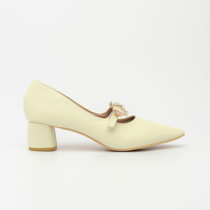 Giày cao gót đế thô mũi nhọn sang trọng Hàn Quốc SG1802-8AP