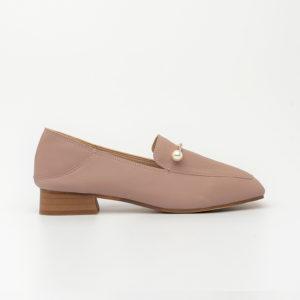 Giày cao gót đính đá ngọc trai Hàn Quốc SG1160-5 màu hồng
