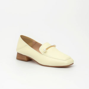 Giày cao gót Hàn Quốc đế thô SG1160-5AP màu kem