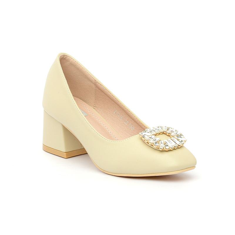 Giày cao gót nữ mũi vuông sang trọng Hàn Quốc SG1610-10KH