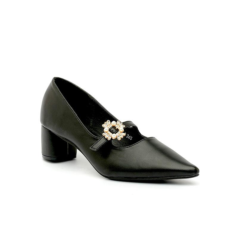Giày cao gót quai đính đá xinh xắn SG1802-8BA