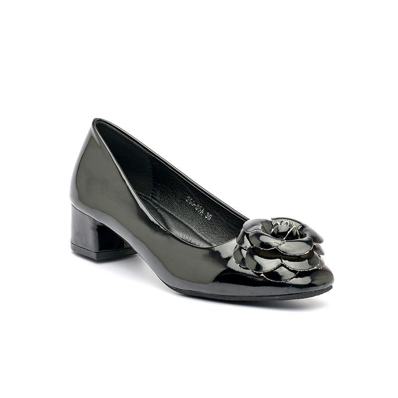 Giày cao gót da bóng êm chân Hàn Quốc SG336-66ABA