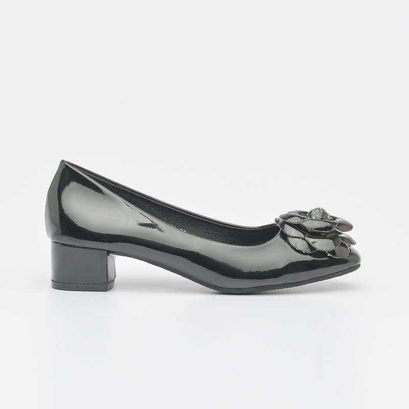 Giày cao gót da bóng êm chân Hàn Quốc SG336-66ABA (2)