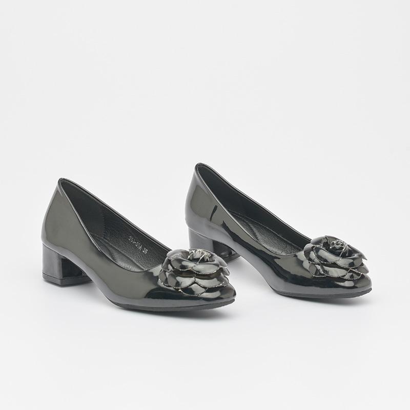 Giày cao gót da bóng êm chân Hàn Quốc SG336-66ABA (4)