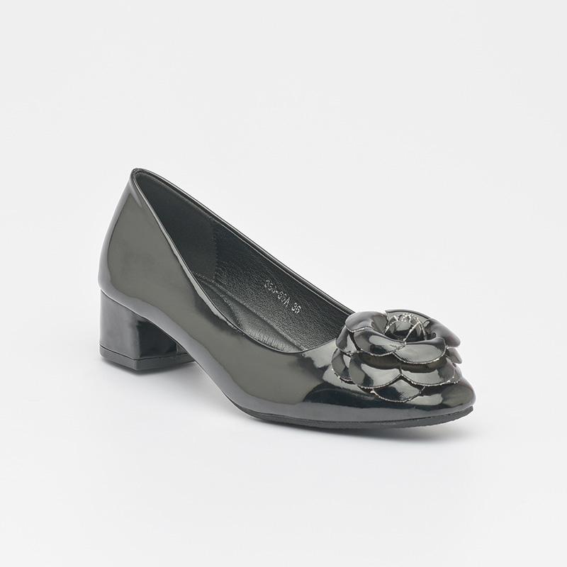 Giày cao gót da bóng êm chân Hàn Quốc SG336-66ABA (5)