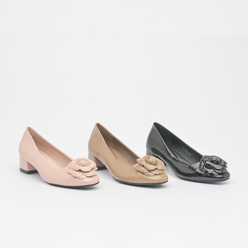 Giày cao gót da bóng êm chân Hàn Quốc SG336-66ABA (6)