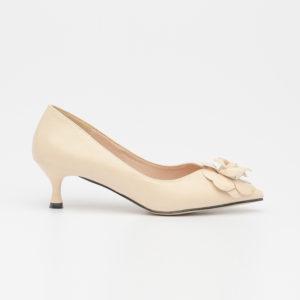 Giày cao gót nơ hoa gót nhọn mũi nhọn SG1088AP